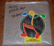"Rare UK 7"" Shaped Picture Disc HUEY LEWIS AND THE NEWS ""The Power Of Love"""
