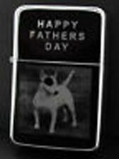 ENGLISH BULL TERRIER DOG  PHOTO ENGRAVED LIGHTER GIFT UK