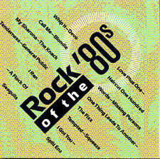 Rock Of The 80's, Vol. 1  MUSIC CD