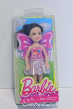 Barbie Chelsea & Friends Doll Dress Up Fun Fairy Dark Hair CGF42