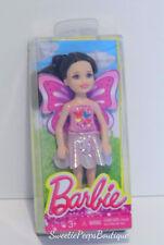 Barbie Chelsea & Friends Doll Dress Up Fun Fairy Dark Hair CGF42