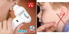 Electric WaxVac Ear Wax remover cleaner vacuum removal kit Clean Easy
