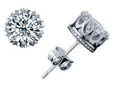 New Style Fashion silver cubic zirconia Women's Stud Earrings