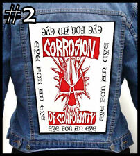 CORROSION OF CONFORMITY -- Huge Jacket Back Patch Backpatch --- Various Designs