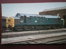 POSTCARD CLASS 37 LOCO 37 286 AT CATTON DEPOT CARDIFF MAY 1977