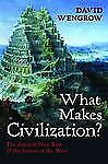 What Makes Civilization?: The Ancient Near East and the Future of the West, Weng