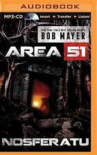 Area 51: Nosferatu by Bob Mayer (2015, MP3 CD, Unabridged)