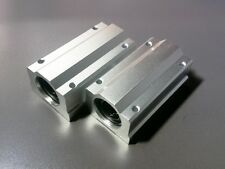 2 x SCS20LUU Long Linear Blocks Shaft Rail Bearing Bushing Motion CNC XYZ Mill