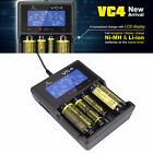 XTAR VC4 LCD USB Battery Charger Power Bank For Li-ion Ni-MH 18650 26650 32650