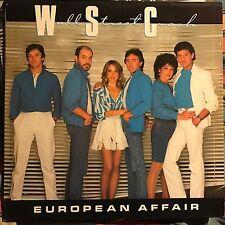 WALL STREET CRASH • European Affair • VINILE LP • 1983 MAGNET