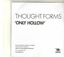 (DT396) Thought Forms, Only Hollow - 2013 DJ CD