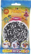 Hama - 207-62 Sachet 1000 Perles à repasser Argent