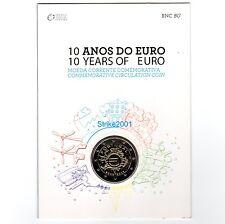 Coin Card Uff. 2 EURO COMMEMORATIVO PORTOGALLO 2012 Anniversario