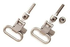 """New Authentic Uncle Mike's 1"""" Nickel-Plated Sling Swivels MO10022"""