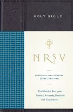 Holy Bible / Catholic Edition with Concordance by Harper Bibles Staff HCDJ