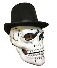 White Skull Mask Latex Day Of The Dead James Bond Spectre Dia De Los Muertos