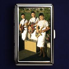 Cigarette Case / Metal Wallet - Kim Sisters - Korean Rock Heroes!