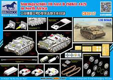 Bronco 1/35 35117 Sturmgeschutz III Ausf D Sd.Kfz.142 Africa