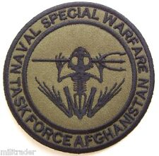 US (Navy Seal) Naval Special Warfare Task Force Afghanistan Patch (Subdued)