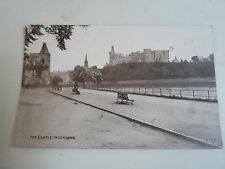Rare Vintage Postcard THE CASTLE INVERNESS Franked+Stamped Glasgow 1907