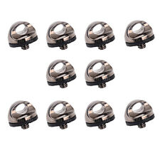 """10Pcs 1/4"""" Screw Connecting Adapter for Camera Shoulder Quick Sling Neck Strap"""