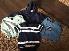 baby boys bundle gap clothing  birth 6 months jumpers jacket  vest top clean con