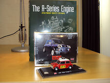 THE A-SERIES ENGINE ITS FIRST 60 YRS + 1:43 MINI COOPER S 1967 MONTE CARLO RALLY