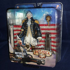 "Bioshock Infinite George Washington MOTORIZED PATRIOT 9"" Figure NECA PS3 XBOX"