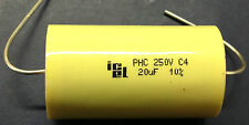 ICEL PHC 20uF 250V 85°C Axial Polypropylene Capacitor