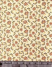 Red Rooster Fabrics  Weed's And Tweeds   4095  21995 Cre1 100 % Cotton  Bty