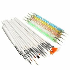 20pcs Nail Art Design Set Dotting Painting Polish Brush Pen Tools New