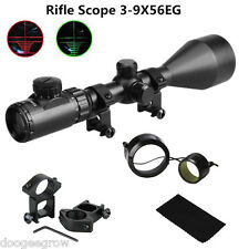 Telescopic C4-16X50EG Tactical Red Green Illuminated Hunting Scope Sight Mount