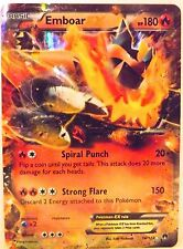 POKEMON Emboar EX 14/122 - XY Breakpoint - Ultra Rare Holo MINT/NM