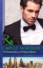 The Redemption of Darius Sterne (The Twin Tycoons), Mortimer, Carole, Acceptable
