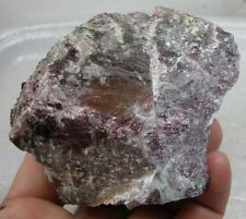 467g Vietnam 100% Natural Rough Raw Grape Spinel Crystal Specimen 1 lb 1/2 oz