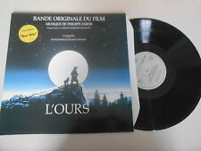 LP OST Philippe Sarde - JJ Annaud : L'Ours (2 Song) ARIOLA REC