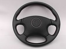 JDM SUBARU IMPREZA GC8 STI RED STITCH  MOMO STEERING WHEEL OEM