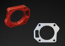 Torque Solution TB Spacer Gassket Combo Red HONDA CIVIC SI 2006-2011