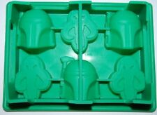 Star Wars Boba Fett Chocolate Fondant Clay Jelly Silicone Soap Mold Molder
