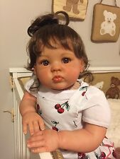 Reborn Beautiful Baby Girl Cuddles Sculpt by Donna RuBert