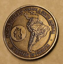 536th Engineer Combat BN Heavy Nation Builders Panama Army Challenge Coin