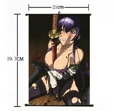 Hot Japan Anime High School of The Dead Sexy Saeko Home Decor Wall Scroll 21*30