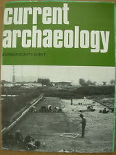 CURRENT ARCHAEOLOGY MAGAZINE No 88 AUGUST 1983