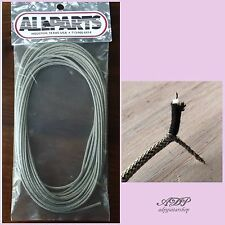 FIL BLINDE pour CABLAGE controle GUITAR VINTAGE Cloth Shield Wire 22AWG 760cm