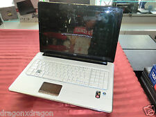 HP Pavilion DV7 Moonlight White, ohne HDD & RAM, Displayschaden