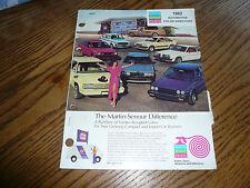 1982 NAPA Martin Senour Paint Colors - AMC Chrysler Ford GM