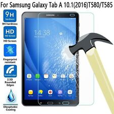 "Genuine Tempered Glass Screen Protector For Samsung Galaxy Tab A 10.1"" T580 2016"
