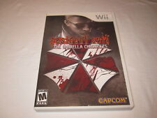 Resident Evil: The Umbrella Chronicles (Nintendo Wii) Complete Excellent!