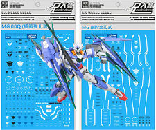 D.L high quality Decal water paste For Bandai MG GNT-000 00Q + GN IV Gundam