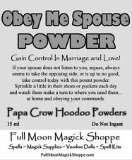 Obey Me Spouse Hoodoo Powder Marriage Control Relationship Love Sex Cheating
